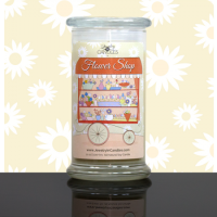 JIC Flower Shop Candle