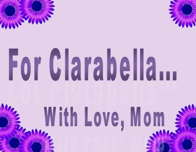 clarabellas candle5